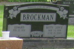 Betty Joyce <i>Gabbard</i> Brockman