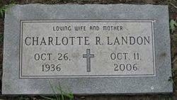 Charlotte R. Landon