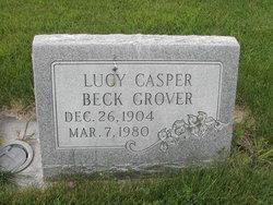Lucy Casper Beck <i>Sellers</i> Grover