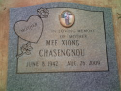 Mee Xiong Chasengnou