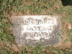 Alice <i>Connelly</i> Bauer