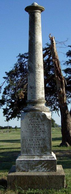 Maria D. <i>Smith</i> Haver