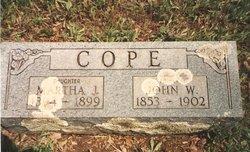 Martha Josephine Cope