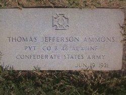 Pvt Thomas Jefferson Ammons