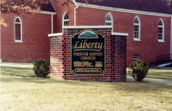 Liberty Freewill Baptist Church Cemetery Old