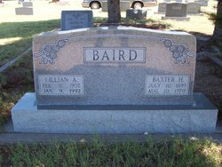 Lillian A. <i>Holiday</i> Baird