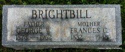 Frances Catherine <i>Stambaugh</i> Brightbill