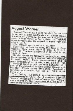 August Werner
