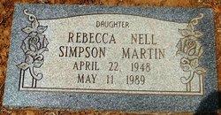 Rebecca Nell <i>SIMPSON</i> MARTIN