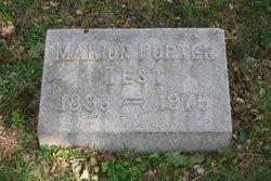 Marion <i>Porter</i> Test