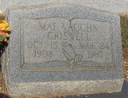 Mae <i>Vaughn</i> Criswell