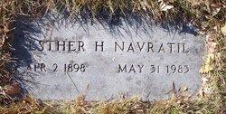 Esther H. <i>Makowsky</i> Navratil