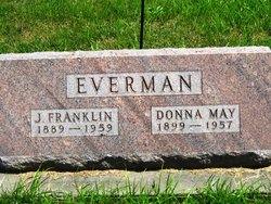 Donna Mae <i>Hilliard</i> Everman