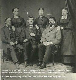 Frances M. Fannie <i>Lankton</i> Edridge