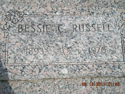 Bessie Chloe <i>Hurley</i> Russell