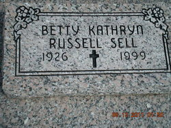 Betty Kathryn <i>Sell</i> Russell