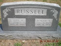 Carrie M. <i>Isenburg</i> Russell