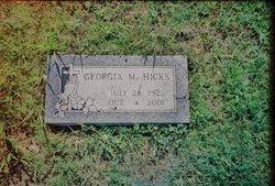 Georgia Marie Ree <i>Kinney</i> Hicks