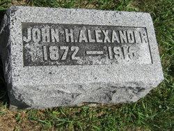 John H Alexander