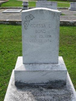 Odessa Leila <i>Entrekin</i> Bond