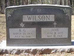 Sarah Janie <i>Russell</i> Wilson