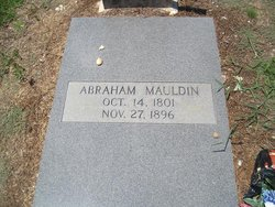 Abraham Washington Mauldin