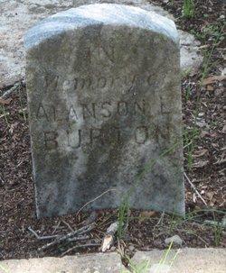 Alanson L Burton