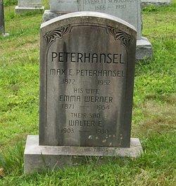 Emma <i>Werner</i> Peterhansel
