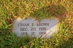 Vivian Rose <i>Reece</i> Brown
