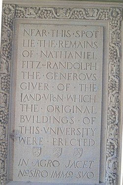 Nathaniel Fitz Randolph
