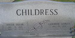 Rhodie Delon Childress