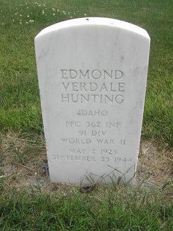 PFC Edmond Verdale Hunting, Jr