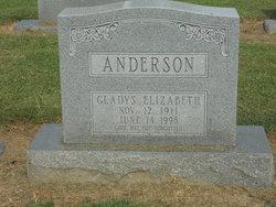 Gladys Elizabeth Anderson