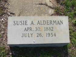 Susie A <i>Croft</i> Alderman