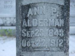 Ann Priscilla <i>Wilson</i> Alderman