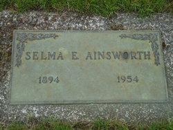 Selma E <i>Nelson</i> Ainsworth