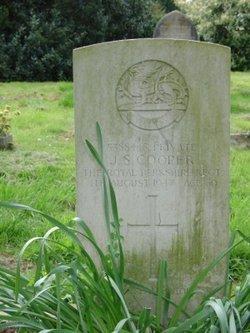 Pvt James Stanley Cooper