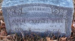 Annie May <i>Carroll</i> Barr