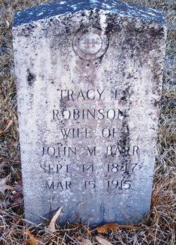 Tracy E <i>Robinson</i> Barr