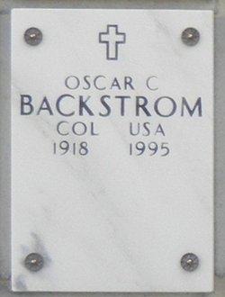 Col Oscar Charles Backstrom