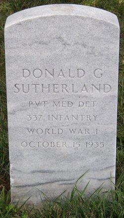 Donald G Sutherland
