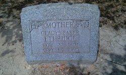 Gladys <i>Ethridge</i> Baker
