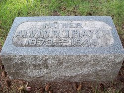 Alvin Ray Thayer
