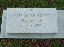 Green Berry Bennett, Jr