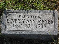 Beverly Ann Meyer