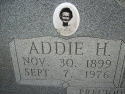 Addie <i>White</i> Hillis