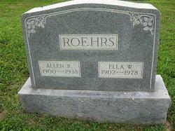 Allen R. Roehrs
