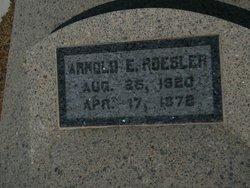Arnold Edwin Roesler
