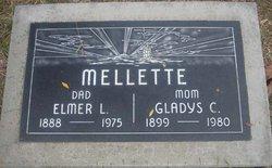 Gladys Mable <i>Curtis</i> Mellette