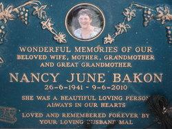 Nancy June Bakon